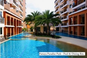 Sold out - 1 Bedroom - Paradise Park Pattaya